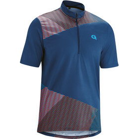 Gonso Isorno Half-Zip Kurzarm Fahrrad Trikot Herren insignia blue